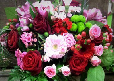 bouquet-fleurs-roses-rouge