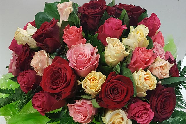 bouquet-rose-roses-rouge-jaune