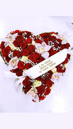 coeur-deuil-rouge-rose-fleurs