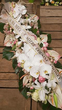 raquette-deuil-fleurs-blanche